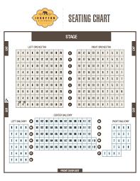 Seating Chart Ivoryton Playhouse