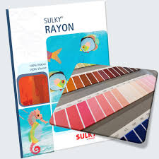 Sulky Rayon Thread Chart Sulky Rayon Thread Card With Actual Thread