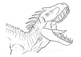 Color for fun printable coloring pages {20 coloring pages equals less than 10 cents a page.} #tpt $paid. Indoraptor With Sharp Teeth Coloring Page Free Printable Coloring Pages For Kids