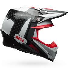 new bell 2017 mx moto 9 carbon fiber flex vice black white