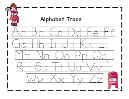 Alphabet Printing Worksheets Worksheets for all | Download and ...