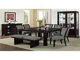 modern wood dining room sets. Dining Room Sets With China Cabinet Furniture Formal Chairs Cherry Modern Elegant Wood