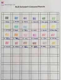 Prismacolor Pencil Blank Color Chart Colored Pencil Blank Color Chart Printable