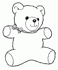 Small Picture Unusual Idea Teddy Bear Coloring Page Top 18 Free Printable Teddy