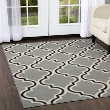 modern trellis geometric area rug 2x3 silver carpet actual 1 9 x 2 11 for
