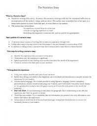how to do a narrative essay write personal narrative essay