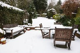 outdoor furniture ready to