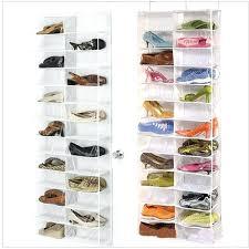 door hanging shoe storage over the door hanging shoe organizer storage holder sorter for pairs shoes door hanging shoe