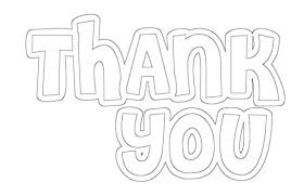 Kids Coloring Thank You Cards Free Printable A Girl And A Glue Gun