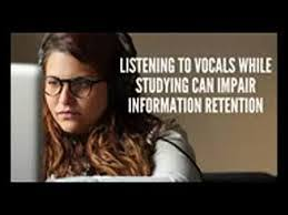 Does Music Help You Study    Mind the Science Gap Rural Rooted Web Marketing   WordPress com Teens think listening to music helps them concentrate  It doesn     t  It relieves