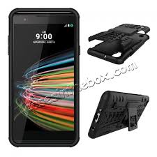 lg x style. discount shockproof armor kickstand protective case for lg x style / tribute hd ls676 volt lg
