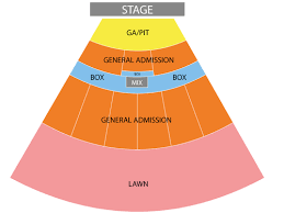 Toyota Pavilion Scranton Seating Chart Related Keywords