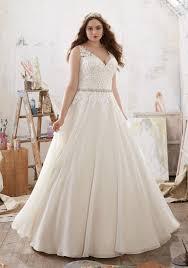 Plus Size Corset Wedding Dress  PlusLookeu CollectionPlus Size Wedding Dress Styles