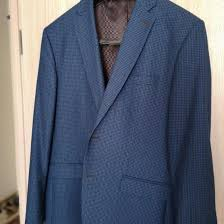 <b>Пиджак</b> casual синий с мелкую <b>клетку</b> – купить в Видном, цена 4 ...