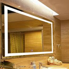 lighted mirror bathroom. Fab Glass And Mirror Bathroom Wall Mounted High Quality LED Lighted Vanity 31 X 23 Inch I