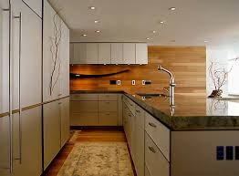 kitchen modern granite. Sleek Granite Counters Kitchen Modern