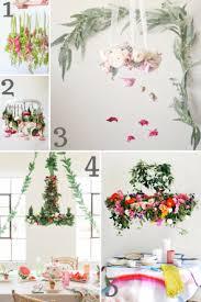 diy flower chandelier inspiration hill city bride virginia wedding blog