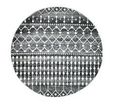 white round rug black and pattern grey rugs rustic gray target inch round rug