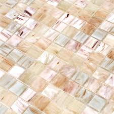 Glass Mosaic Tiles Goldensilk Light Beige - TM33313