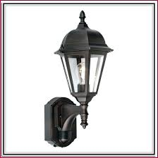 motion sensor light fixtures decorative outdoor fixture t96