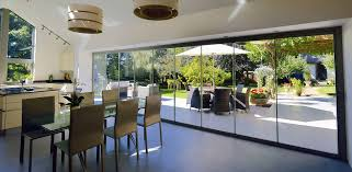fabulous frameless sliding patio doors frameless glass bifolding doors internal entrance
