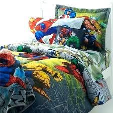 superhero bedding queen bed sheets super heroes set image of comforter