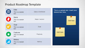 road map powerpoint template product roadmap template for powerpoint slidemodel