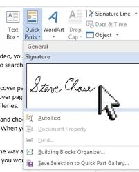 How To Digitally Sign A Word Document Sign A Word Document With Your Signature Steve Chase Docs