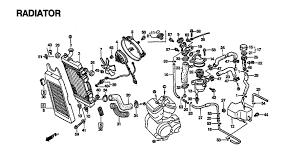 1997 honda shadow vlx 600 vt600c radiator parts best oem h01530112 gif