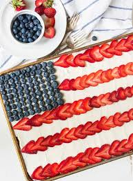 american flag cake made with real ings from scratch fluffy yellow sheet cake