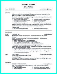 Impressive Resume Templates Your Catering Manager Resume Must Be Impressive To Make Impressive 12