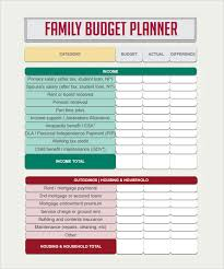 budget plan sheet budget planner template 8 free download for pdf excel