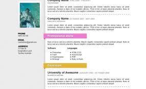 Free Resume Templates Word 2010 Resume Free Resume Templates Graceful Free Resume Templates 96