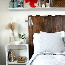 Mobel Bauen Mabel Aus Holzpaletten Kopfbrett Bett Schlafzimmer Idee