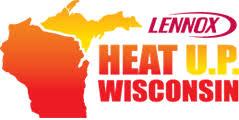 lennox logo. lennox heat u.p. wisconsin logo c