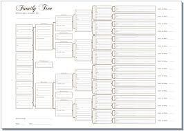 10 Generation Pedigree Chart Template 12 Ageless Is There A Blank Chart For Family Tree