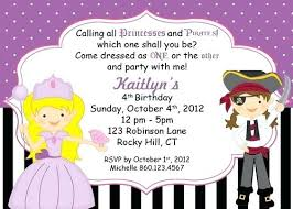 Scroll Birthday Invitations Princess Pirate Invitations Pirate Scroll Invitation Template