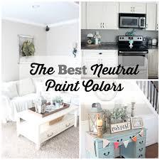 farmhouse paint colorsThe BEST Neutral Paint Colors  The Glam Farmhouse