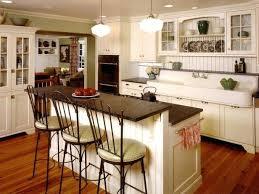 antique white kitchen ideas. Images Antique White Kitchen With Large Island Vintage Bar Stools For Retro Table. Ideas