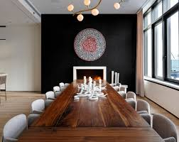Small Picture 20 Beautiful Dining Rooms with Black Accent Walls Home Design Lover
