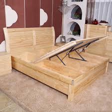 wooden furniture box beds. Pine Bed 1.2 M 1.5 1.8 Double Height Box Storage Beds Wooden Furniture
