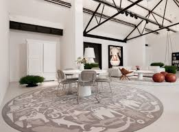 large round area rugs living room elegant fish patterns modern ideas pictures 46