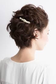 短髪さんだってアレンジしたい結婚式向けショートヘア特集 お呼ばれ