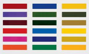 Pop Charts 1966 Gerhard Richters Legendary Color Charts Turn 50 Artnet News