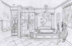 bathroom interior design sketches. Unique Interior Bathroom Interior Design Sketches Datenlaborinfo In S