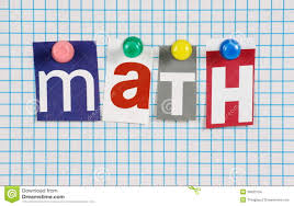 The Word Math Stock Photo Image Of Education School 36593754