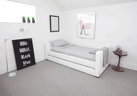 modern twin bed. Dorma Upholstered Modern Twin Bed With Trundle By Monte Design Within Beds Remodel 5 S