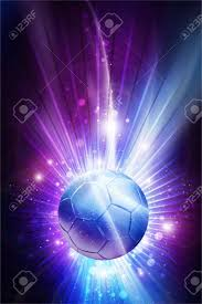 Soccer All Stars - Cool Glowing Stars Soccer Theme Background ...