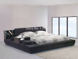 Modern Bedroom Furniture Luxury Bed Frame King Throughout Size Idea