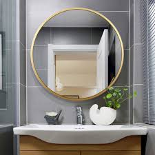Mirror With Wood Frame Design Buy Alfa Design Hub Wall Mirror With Wood Frame 18 Inch